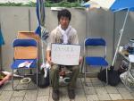 【要傾聴】国会前学生ハンスト148時間で終了:6日と4時間若者の身を賭した抗議
