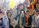 【超胸アツ!!】国会前に石田純一が降臨!「戦争は文化ではない!日本は世界が誇る平和国家です!」