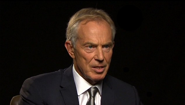 Long Road to Hell: America in Iraq hosted by CNN's Fareed Zakaria Former Prime Minister Tony Blair being interviewed  ***TMoS GRABS***