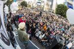 10月16日(金)17日(土)18日(日)19日(月)に行われた安倍政権反対デモの様子