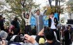 【目指すは野党第一党確保】民主党蓮舫代表代行「共産党とは選挙協力をする。応援し合ったりすることはない」