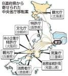 省庁の地方移転候補地に関東・北陸が一つもないと話題に。役所側は移転に反発。