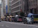 【いかつい】3月13日大阪で「自動車パレード」開催!生コン車など260台、業界再建・戦争法廃止・辺野古NO・原発再稼働反対