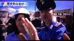【人として】イタリア地震の救助活動をNHKが中継しようとするが現地の警察官にストップさせられる。