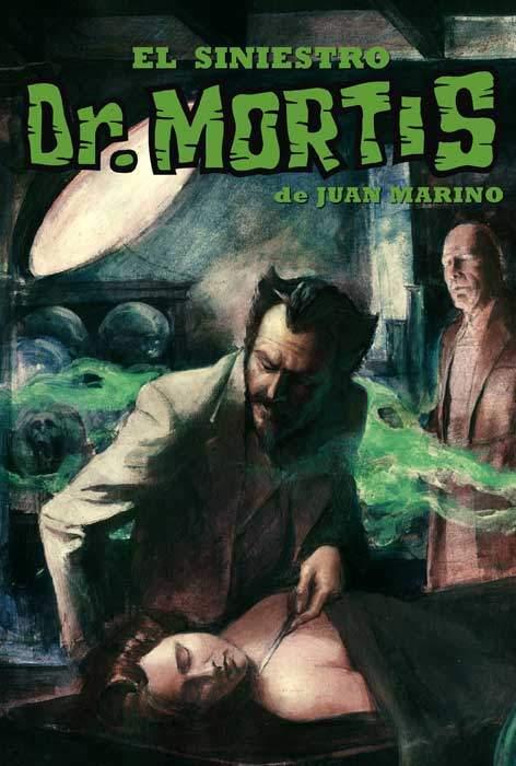 portada El siniestro Dr. Mortis