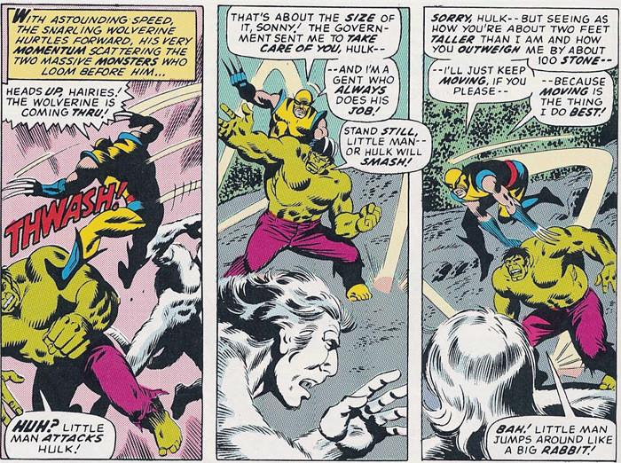 Wolverine vs Hulk & Wendigo