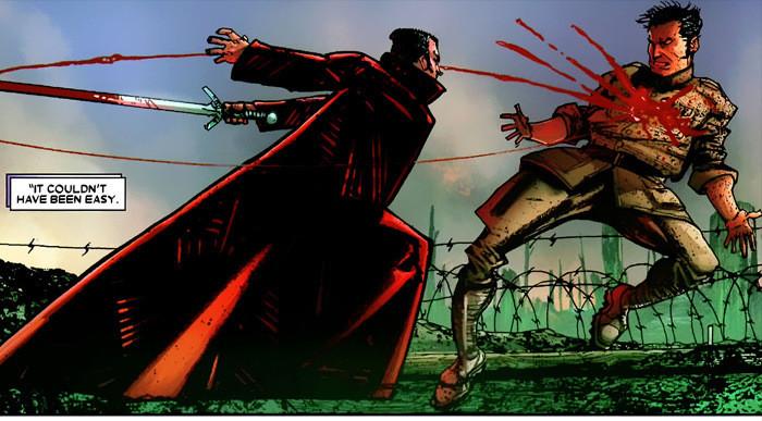 Wolverine vs Lazaer
