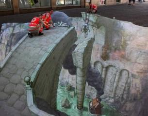 arte callejero en 3d, de Eduardo Relero