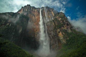 caida del angel, en venezuela, la cascada más alta del mundo