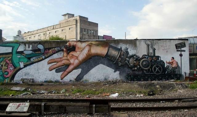 graffiti en Buenos Aires, Argentina