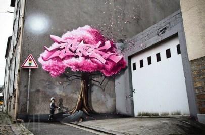 graffiti de PakOne
