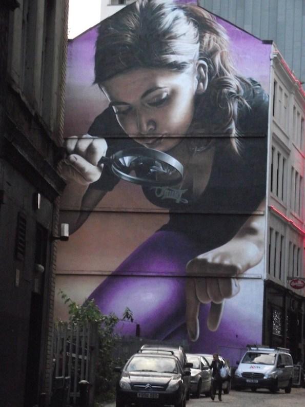 graffiti de SmugOne, en gralsgow, escocia