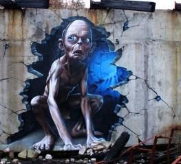 graffiti de SmugOne - Gollum!!