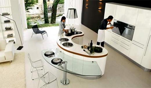 predicciones-isaac-asimov-diseño-cocina-futurista
