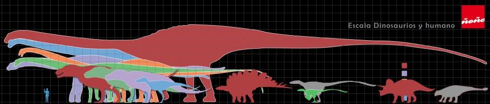 escala-tamaño-raza-dinosaurio-humano