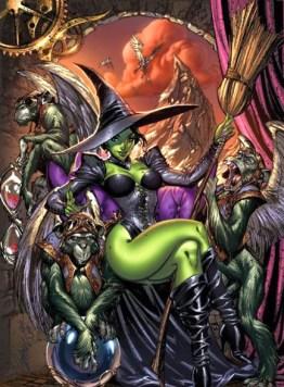 La bruja mala del norte, del Mago de Oz