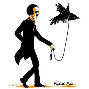ilustracion-edgar-allan-poe-pasea-cuervo-eden