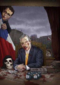 ilustrador-rafael-nangari-portada-zombies-moneda-piñera-hinzpeter