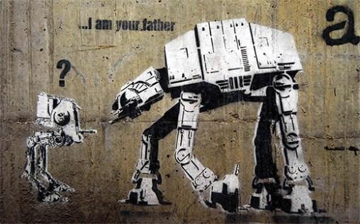 banksy-grafiti-at-at-star-wars-soy-tu-padre