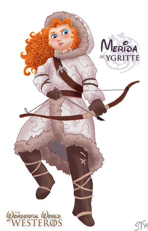 merida-valiente-disney-ygritte-game-of-thrones
