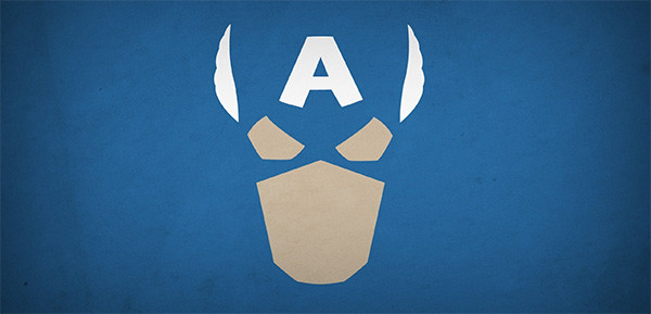 capitan-america-mascara-simbolo-minimalista