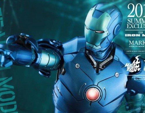 Iron Man Mark III. Stealth Mode.
