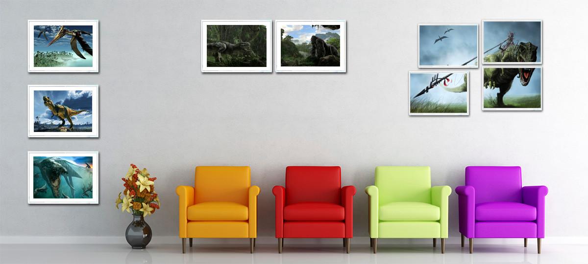 Poster + marco: tú eliges la imagen y el marco; el portal Ñoño hace ...