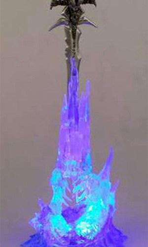 lámpara espada frostmourne