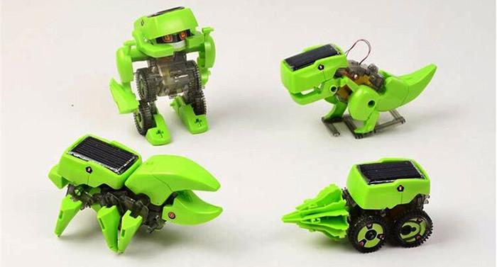 Robot solar transformable 4 modelos 1 juguete portal o o - Que hace un robot de cocina ...