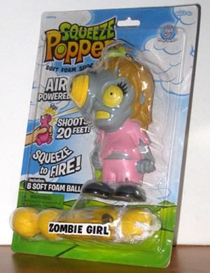 juguete de niña zombi