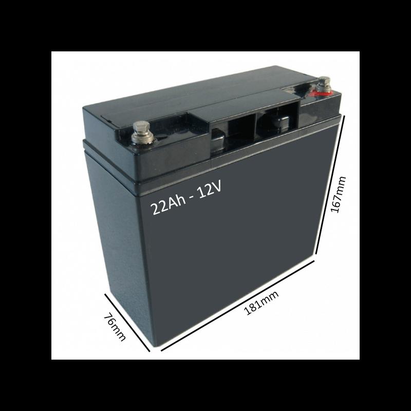 Bateras Silla de ruedas elctrica POWER CHAIR de 22Ah  12V