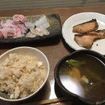 2017/1/15 釣り魚買取り マダイ・ヒラマサ・スルメイカ料理 ○ッ○パッド??