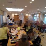 2020年10月 高齢者施設にて出張寿司 パーティー  神奈川県