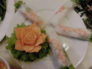 おいしいベトナム料理 生春巻き&揚げ春巻き