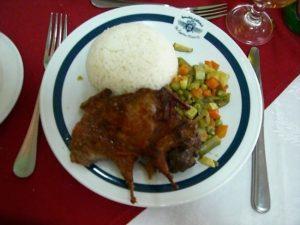 おいしいエジプト料理 ハト料理