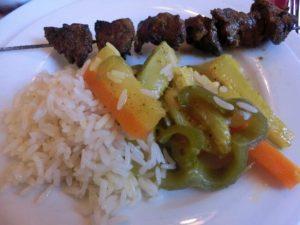 おいしいモロッコ料理 ケバブ