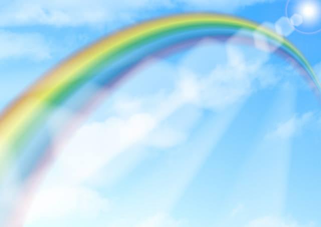 虹の色 順番