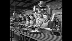 mujeres durante la 2 guerra mundial