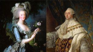 luis XVI y María ANtonieta