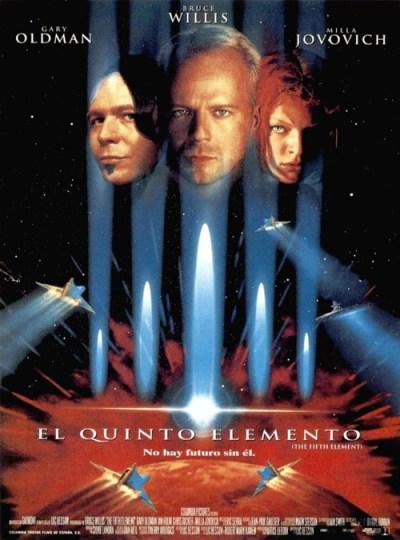El quinto elemento ciberpunk cine