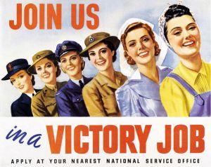 mujeres guerra mundial