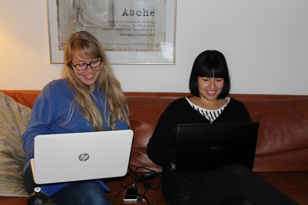 Tina og Kamilla