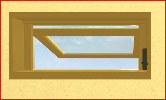 横滑り窓画像