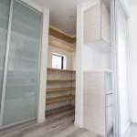 無印良品の家 キッチン 収納イメージ画像