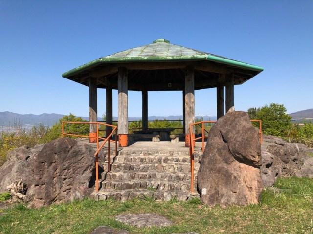 日本夜景遺産に選ばれた北海道岩内町の円山展望台に行ってきました