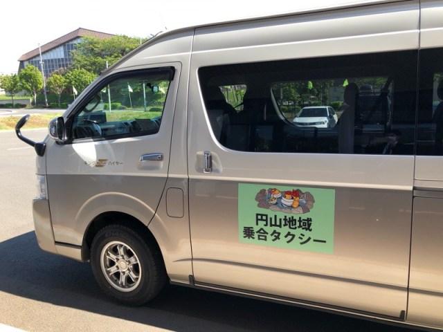 岩内町円山地域へ行くにはバスではなくて乗合タクシーで!バスターミナルから円山エリアまで実証運行中の乗合タクシーに乗ってみました【岩内町の交通手段】