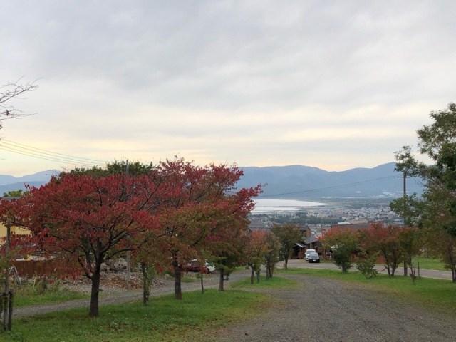 北海道岩内郡の紅葉は10月から!2020年岩内の山の景色も色づきはじめました