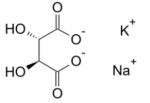 酒石酸ナトリウムカリウム