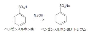 ベンゼンスルホン酸 アルカリ融解 水酸化ナトリウム