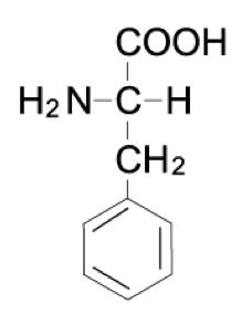フェニルアラニン 分子量